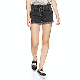 Volcom Bf Goals Short Womens Shorts - Vintage Black