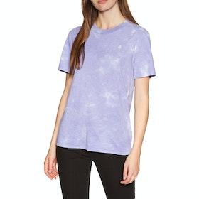 Volcom Clouded Womens Short Sleeve T-Shirt - Multi