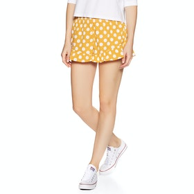 Volcom Newdles Short , Shorts Kvinner - Dot