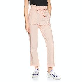 Volcom Pap Bag Pant , Trousers Kvinner - Light Peach