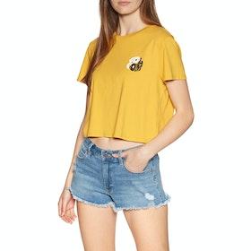 Volcom Stone Yang , Kortermet t-skjorte - Sunrise