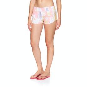 "Volcom Tie Dye For 2"" Womens Boardshorts - Multi"