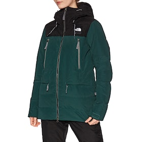 Veste Femme North Face Pallie - Ponderosa Green Tnf Black