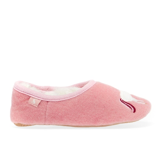 Joules Slipper And Soft Toy Girls Slippers