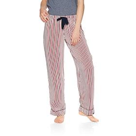 Superdry Weekender Luxe Bottoms Womens Pyjamas - Red Stripe
