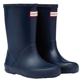 Hunter First Classic Childrens Wellington Boots - Navy