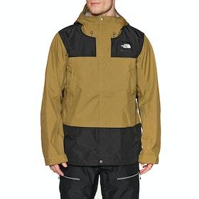 North Face DRT Waterproof Jacket - British Khaki Black