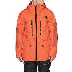 North Face Goldmill Parka Snow Jacket - Papaya Orange Picante Red