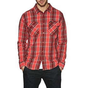 RVCA Thatll Work Flannel Shirt - Baked Apple