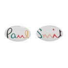 Paul Smith Rainbow Text Cufflinks