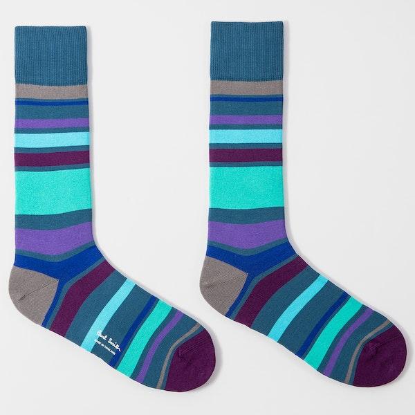 Paul Smith Andy Stripe Fashion Socks