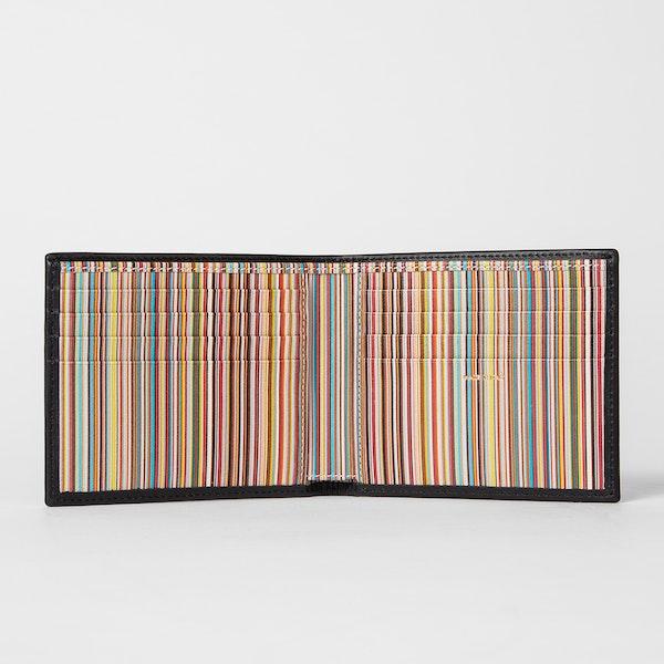 Carteira Paul Smith Signature Stripe Interior Billfold