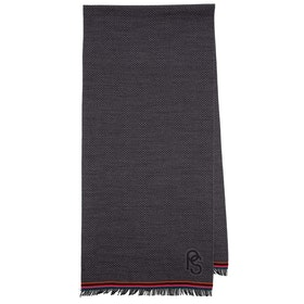 Paul Smith Dropped Scarf - Slate