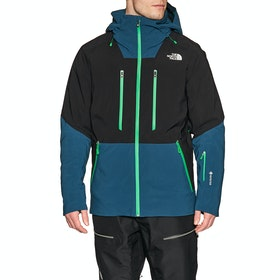 North Face Anonym Snow Jacket - Black Blue Wing Teal