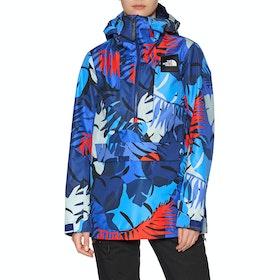Blouson pour Snowboard Femme North Face Tanager - Flag Blue Palms Print