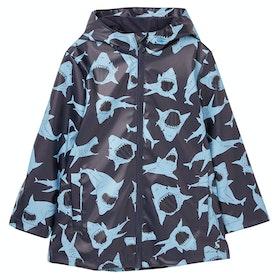 Joules Skipper Boy's Jacket - Blue Shark