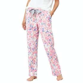 Joules Snooze Bottoms Women's Pyjamas - Cream Floral