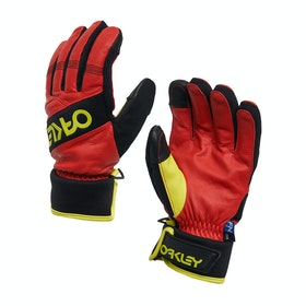 Oakley Factory Winter 2 Snow Gloves - High Risk Red