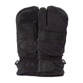 Gants de ski POW August Short Trigger - Black
