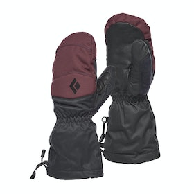 Black Diamond Recon Mitts Womens Snow Gloves - Bordeaux