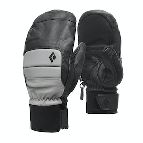 Black Diamond Spark Mitts Womens Snow Gloves - Nickel