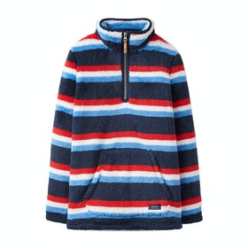 Polaire Joules Woozle - Navy Stripe