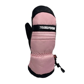 Transform Throwback Snow Gloves - Pink