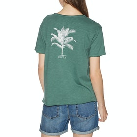 Roxy Star Solar Womens Short Sleeve T-Shirt - North Atlantic