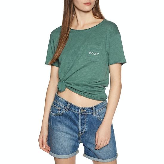 T-Shirt à Manche Courte Femme Roxy Star Solar