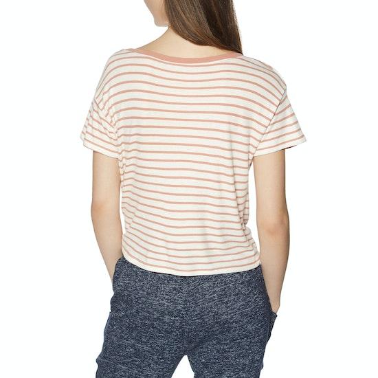 T-Shirt à Manche Courte Femme Roxy Wake Up With Sun