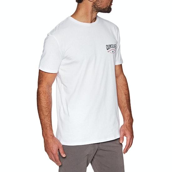 Camiseta de manga corta Quiksilver Cloud Corner