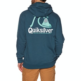 Quiksilver Empty Rooms Pullover Hoody - Majolica Blue