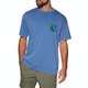 Quiksilver X Ray Cafe Short Sleeve T-Shirt