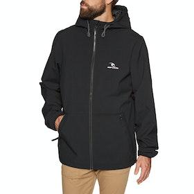 Rip Curl Essential Surfers Anti-series Waterproof Jacket - Black