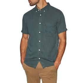 Rip Curl Ventura Short Sleeve Shirt - Dark Forest