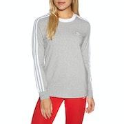 Adidas Originals 3 Stripes Womens Long Sleeve T-Shirt
