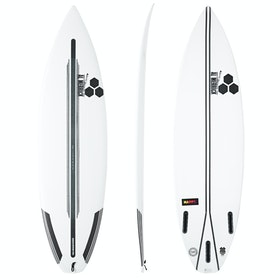 Surfboard Channel Islands Happy Spine Tek Futures Tri Fin - White