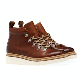 Grenson Bridget Damen Stiefel - Tan Hand Painted