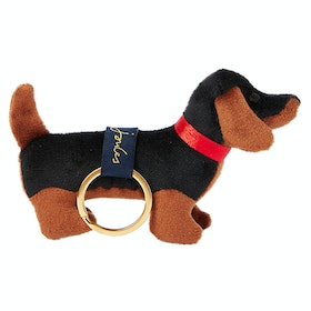 Joules Charmwell Keyring - Black Dog