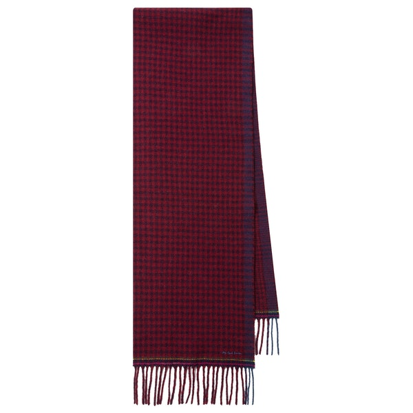 Paul Smith Dble Check Scarf