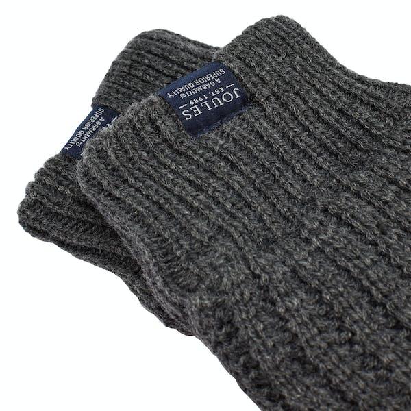 Joules Bamburgh Knitted Herren Handschuhe