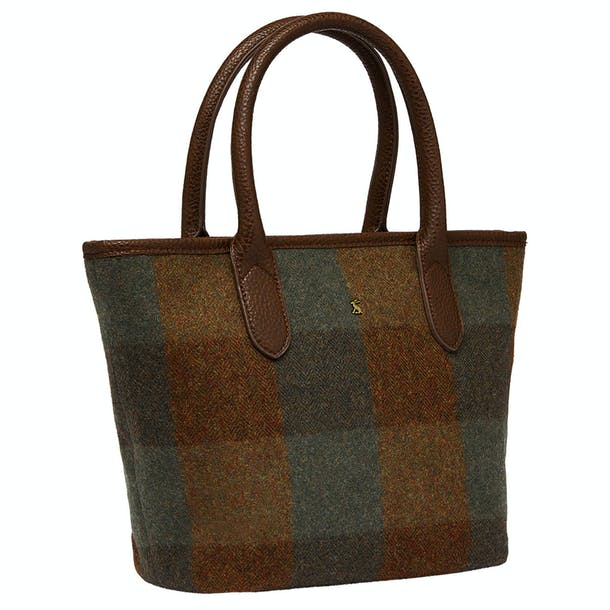 Joules Carey Tweed Ladies Handbag