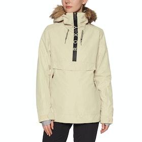 Roxy Shelter Womens Snow Jacket - Oyster Gray