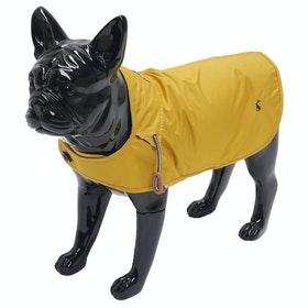 Joules Water Resistant Dog Jacket - Mustard
