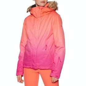 Roxy Jet Ski SE JK Womens Snow Jacket - Beetroot Pink Prado Gradient