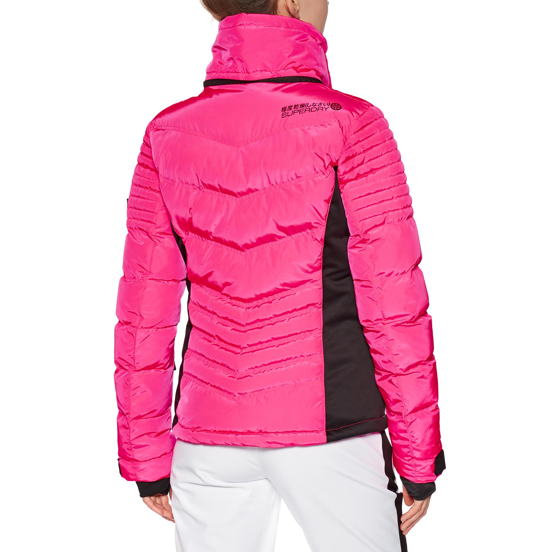 Blouson pour Snowboard Femme Superdry Luxe Snow Puffer