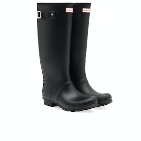 Hunter Original Tall Wide Womens Wellies - Black