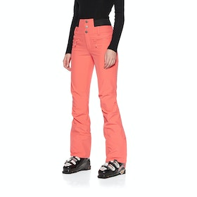 Roxy Rising High Womens Snow Pant - Living Coral