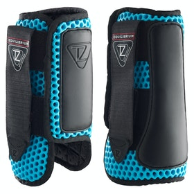 Stivali da Cross Country Equilibrium Tri-Zone Impact Sports Front - Blue