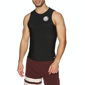 Rip Curl 0.5mm Flashbomb Sleeveless Thermal , Rashguard - Black